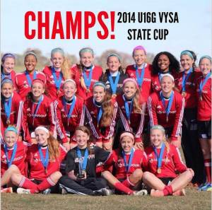 98G State Champs 2014
